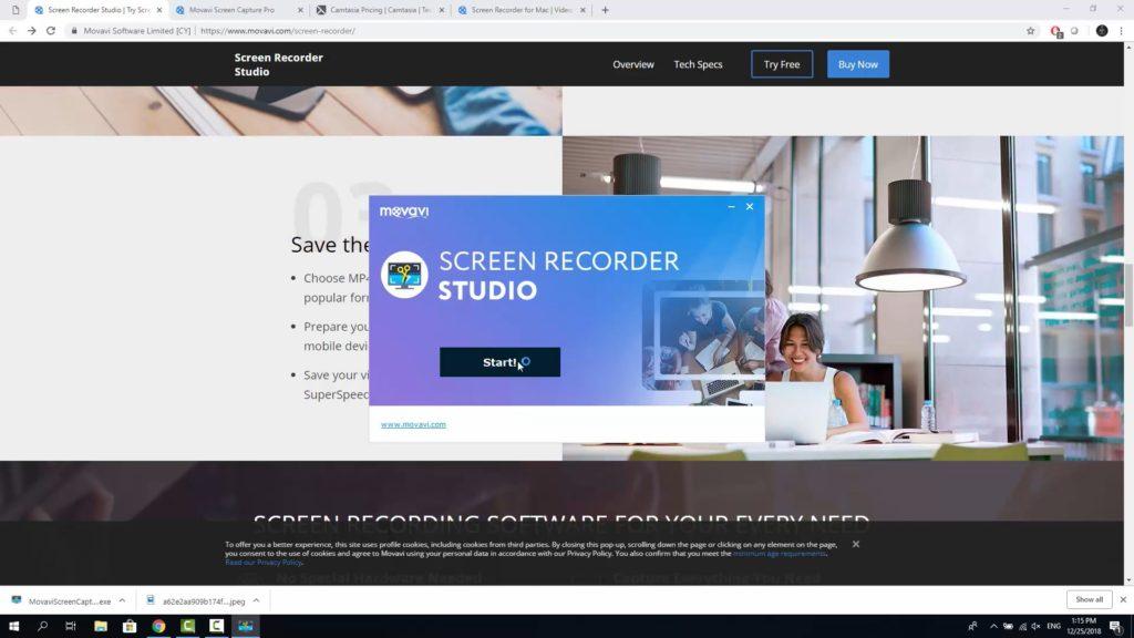 Best Camtasia Alternative - Movavi Screen Recorder  Is it