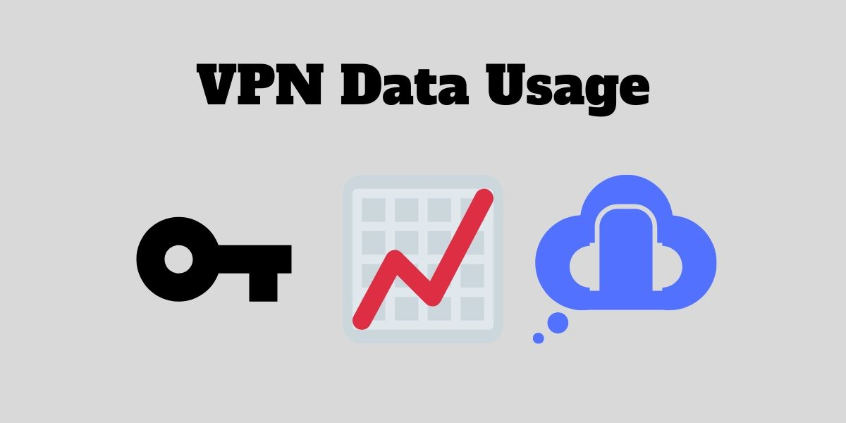 How much of additional data does a VPN connection use?